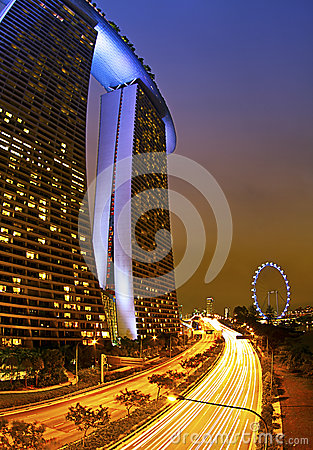 Marina Bay Sands Editorial Stock Image