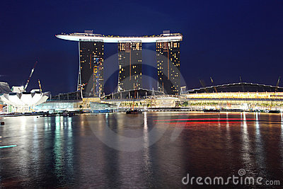 Marina Bay Sands,Singapore