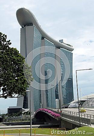 Marina Bay Sands Singapore Editorial Stock Image