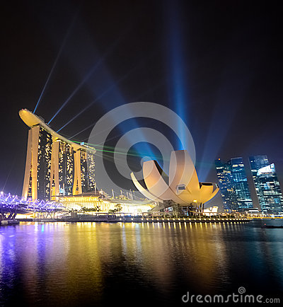 Marina bay sands, Singapore Editorial Image