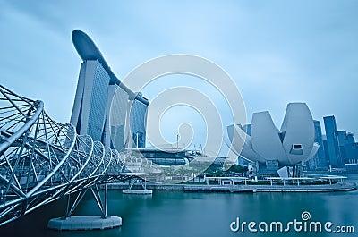 Marina Bay Sands and Waterfront, Singapore