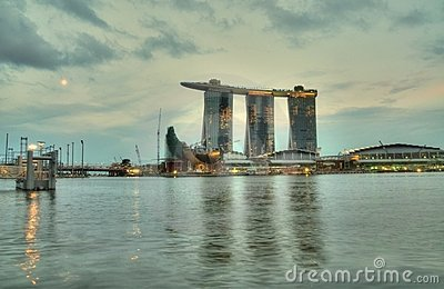 Marina Bay Twilight