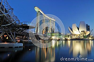Marina Bay : Urban Landscape