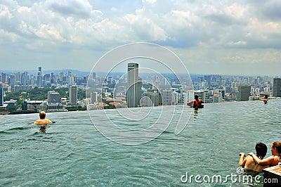 Marina BaySands SkyPark Editorial Image