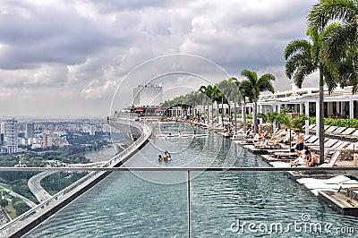 Marina Baysands Skypark Editorial Image Image 32069100