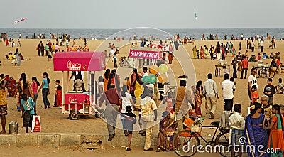 Marina Beach Chennai India Editorial Stock Photo Image 20606503 - Marina beach chennai india editorial stock photo image 20606503