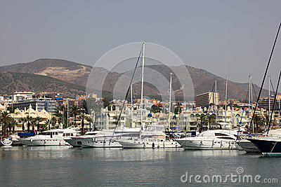 Marina of Benalmadena, Spain