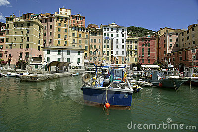 Marina of Camogli