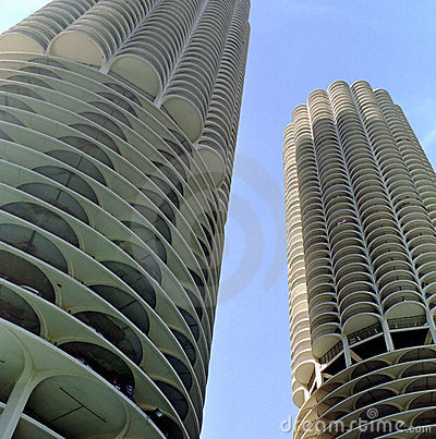 Marina City Chicago Illinois USA