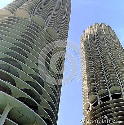 Free Marina City Chicago Illinois USA Stock Images - 2510314