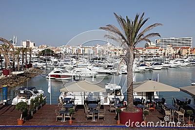 Marina de Vilamoura, Algarve Portugal Editorial Image