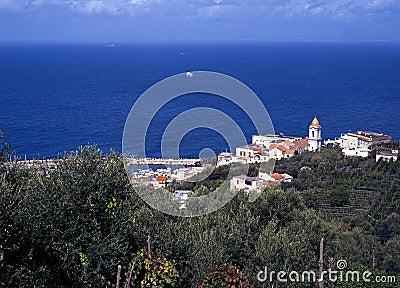 Marina della Lobra, Amalfi Coast, Italy.