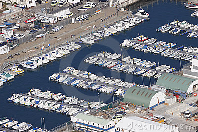 Marina and dock yard Gibraltar