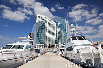 Marina at the Dubai Festival City
