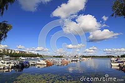 Marina in Finland