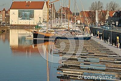 Marina in Gdansk Editorial Image