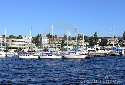 Marina on Lake Washington