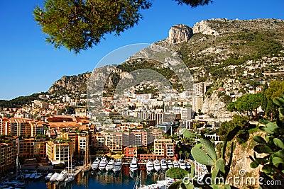 Marina in Monte Carlo