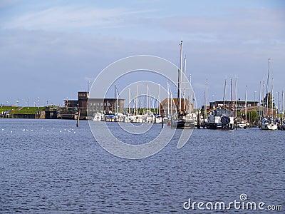 Marina at the north sea