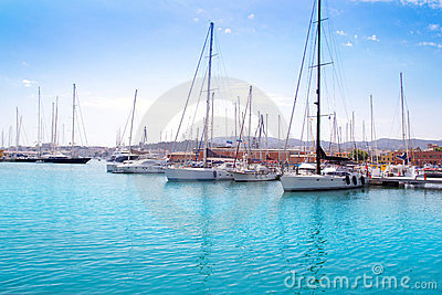Marina port in Palma de majorca