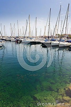 Marina of Puerto de Mogán