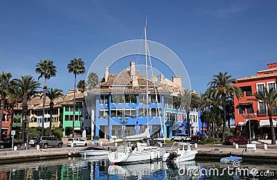 Marina in Sotogrande, Spain