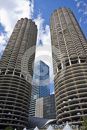 Free Marina Towers Chicago Stock Photos - 15929103