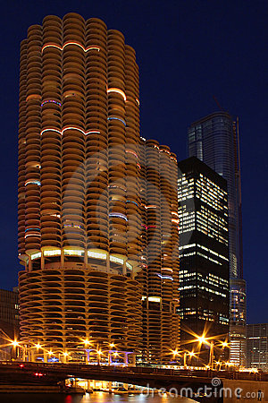 Free Marina Towers In Chicago Stock Photo - 7268310