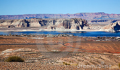 Marina Wahweap Bay Lake Powell Glen Canyon Arizona