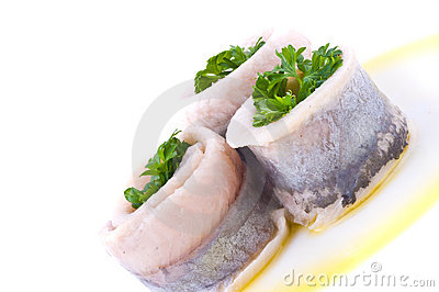 Marinaded herring