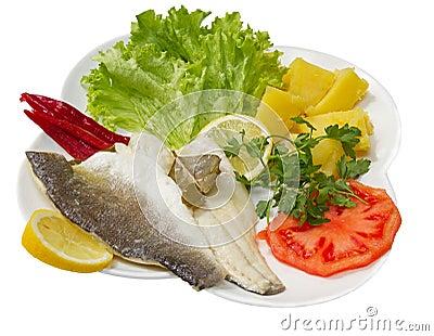 Marinated Sea Bass