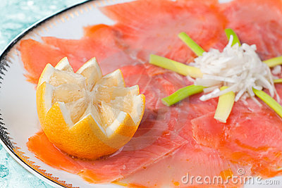 Marinated Smoked Salmon