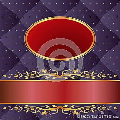 Marinblå och rödbrun bakgrund