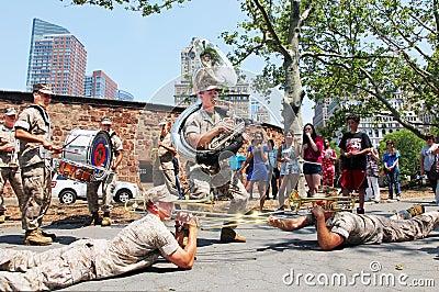 Marine band Editorial Photo