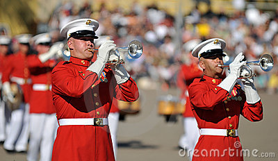 Marine Corps Band Editorial Photography