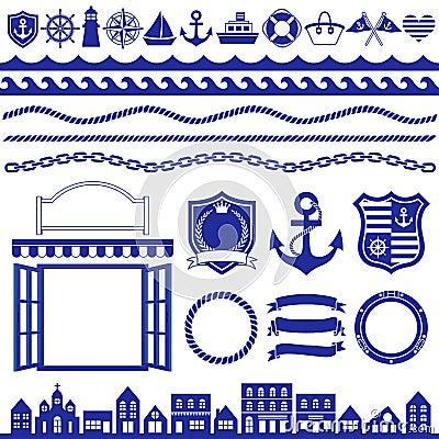 Free Marine Decoration Stock Image - 19922751