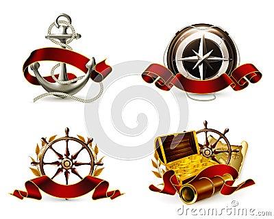 Marine Emblem set