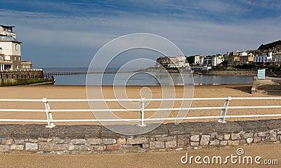 Marine Lake Weston-super-Mare Somerset England UK