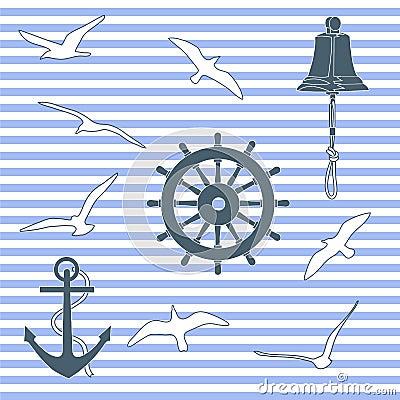 Marine pattern