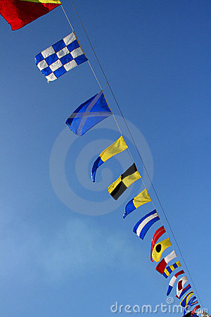 Marine signal flags