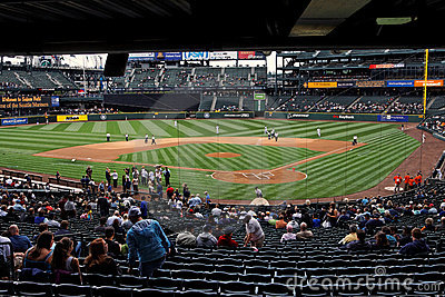 Mariners x Padres Safeco Field