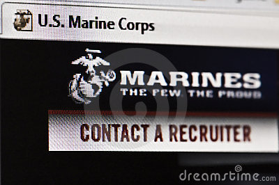 Marines Editorial Stock Photo