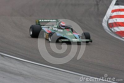 Mario Andretti s Lotus Editorial Image