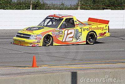 Mario Gosselin 12 Qualifying NASCAR Truck Series Editorial Stock Image