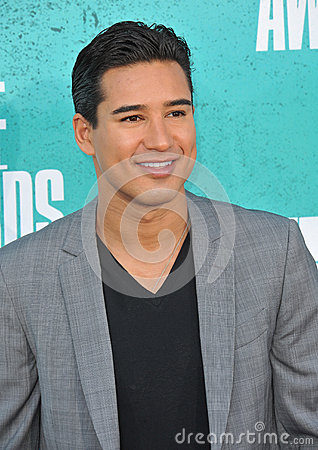 Mario Lopez Editorial Stock Image