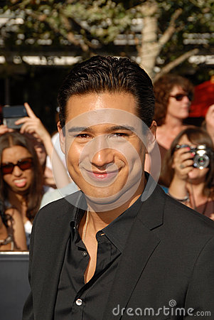Mario Lopez Editorial Stock Photo
