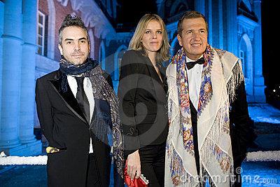Mario Testino and Eva Herzigova Editorial Photography