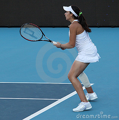 Marion Bartoli (FRA),professional tennis player Editorial Photography