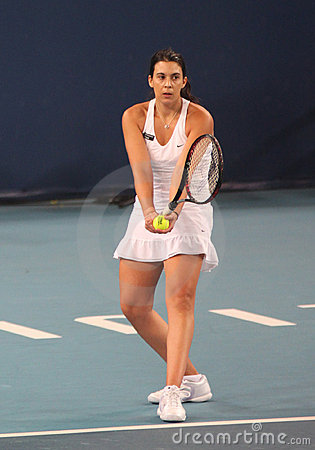 Marion Bartoli (FRA),professional tennis player Editorial Image