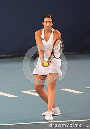 Marion Bartoli (FRA),professional tennis player Editorial Image
